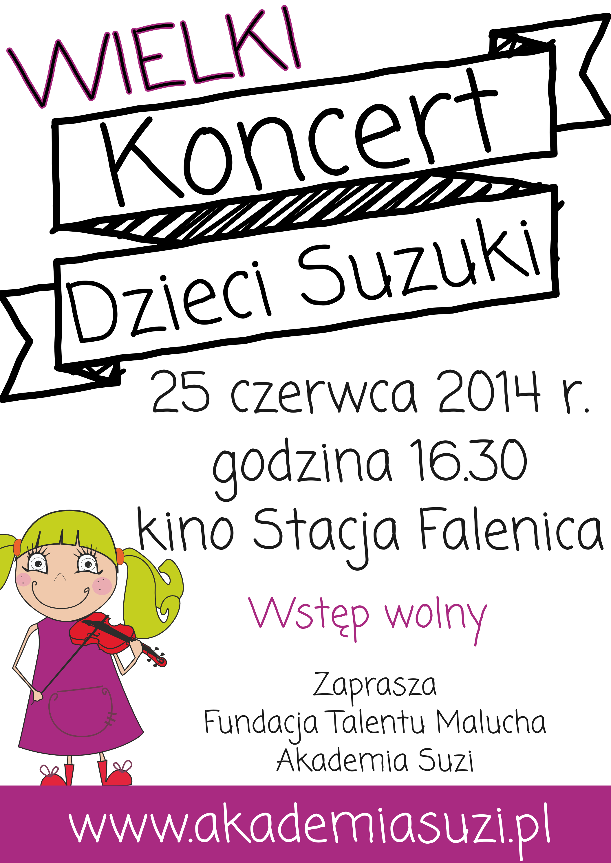 Wielki Koncert Dzieci Suzuki
